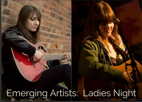 Emergin Artists: Briagha McTavish and Adrienne Frailey 01/17/15