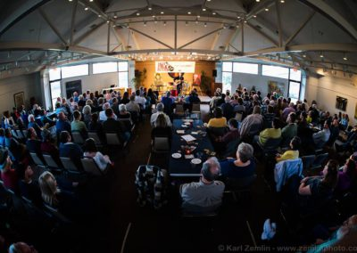 Full house for Joe Crookston. photo by Karl Zemlin.
