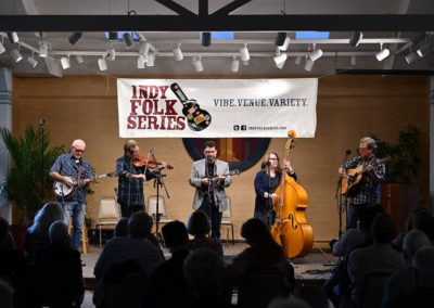 New Augusta Bluegrgrass Band. Photo by John Cote.
